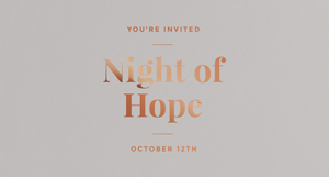 Night of Hope Invite